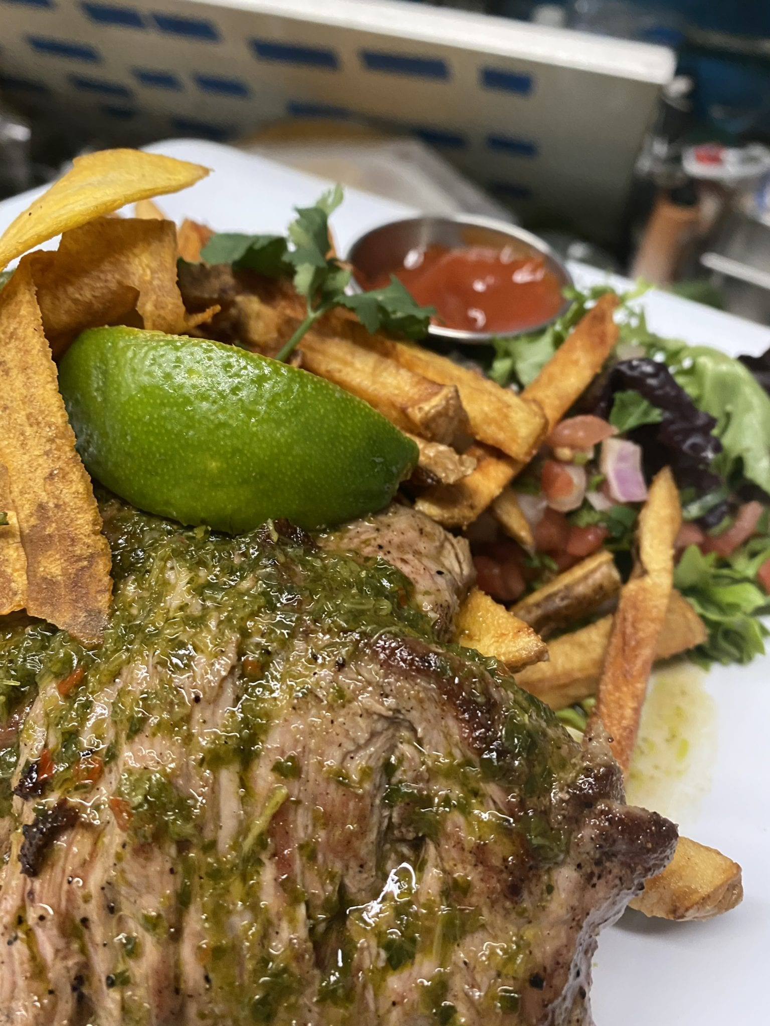 EL Churrasco with Chimichurri